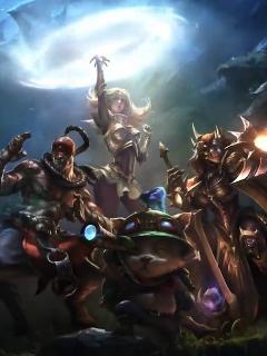 【持续更新】A站最全英雄联盟登录动画和CG收录