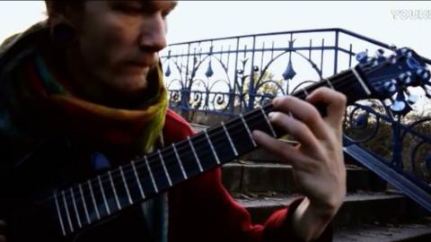 丹麦指弹吉他演奏家Christian Brock演奏美国倬尼Journey OF660碳纤维折叠吉他