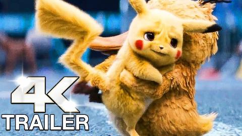 【4K超高清】《精灵宝可梦大侦探皮卡丘》 11分钟超长预告+制作特辑