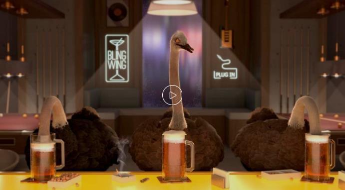 现实讽喻短片荒诞离奇的世界:鸵鸟政治