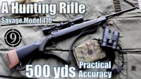 [9-Hole Reviews]萨维奇M10猎枪500码精准射击挑战