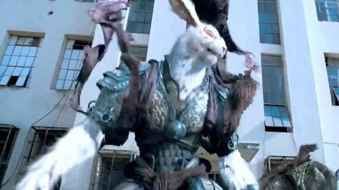 电影:上古妖兽穿越到人间,能附身在人类身上,肆虐城市!