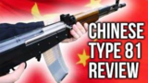 【搬运/已加工字幕】中国外贸版81式步枪(EM356)试射