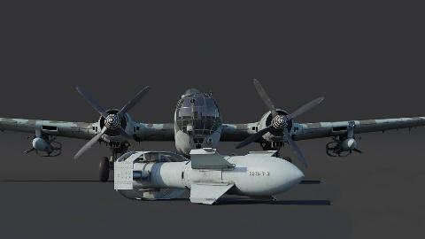 【讲堂491期】二战德国多大胆?把两具引擎焊接在一起,推出4发双螺旋桨轰炸机