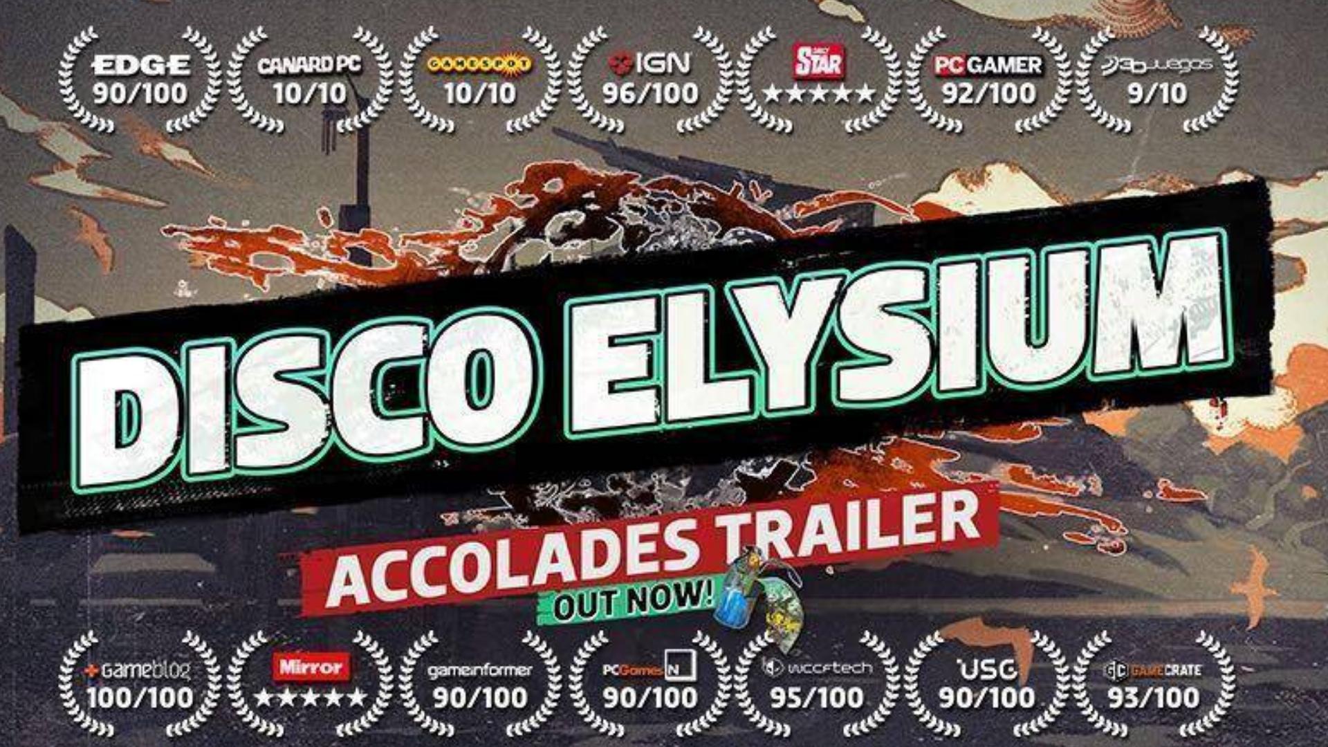 《极乐迪斯科(DISCO ELYSIUM )媒体赞誉宣传片