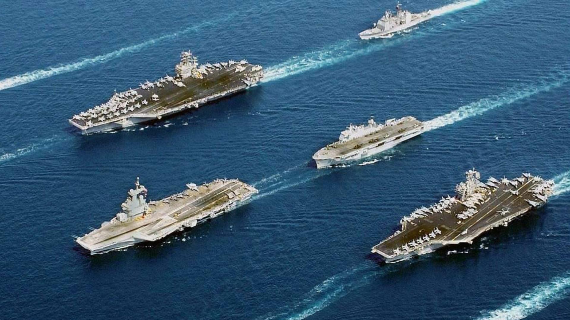 这是西班牙人与美国航母战斗群的一次霸气对话