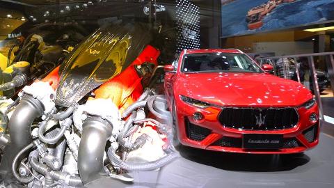 【2019上海车展】2.3吨的SUV照样4秒内破百 解析玛莎拉蒂 Levante Trofeo