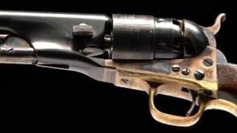 [RIA]160年前的柯尔特左轮手枪