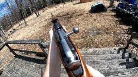 第一人称看射击莫辛纳甘91/59卡宾枪