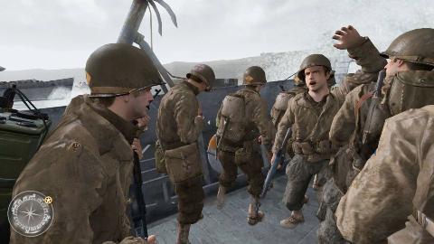 使命召唤2:身临其境抢滩登陆战,这一战打的真是惊心动魄,太震撼了