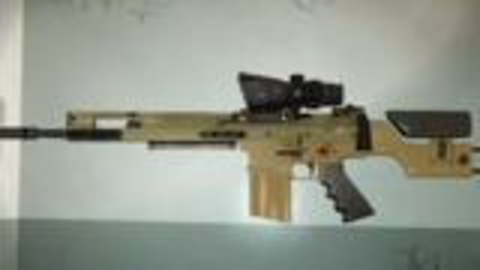 【PAYDAY2/收获日2】CSGO的无许可联动武器:SCAR-20精准射手步枪