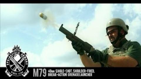 【搬运/已加工字幕】M79榴弹发射器