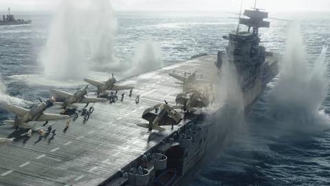 二战大片《中途岛战役》首曝预告,太平洋战争转折点!