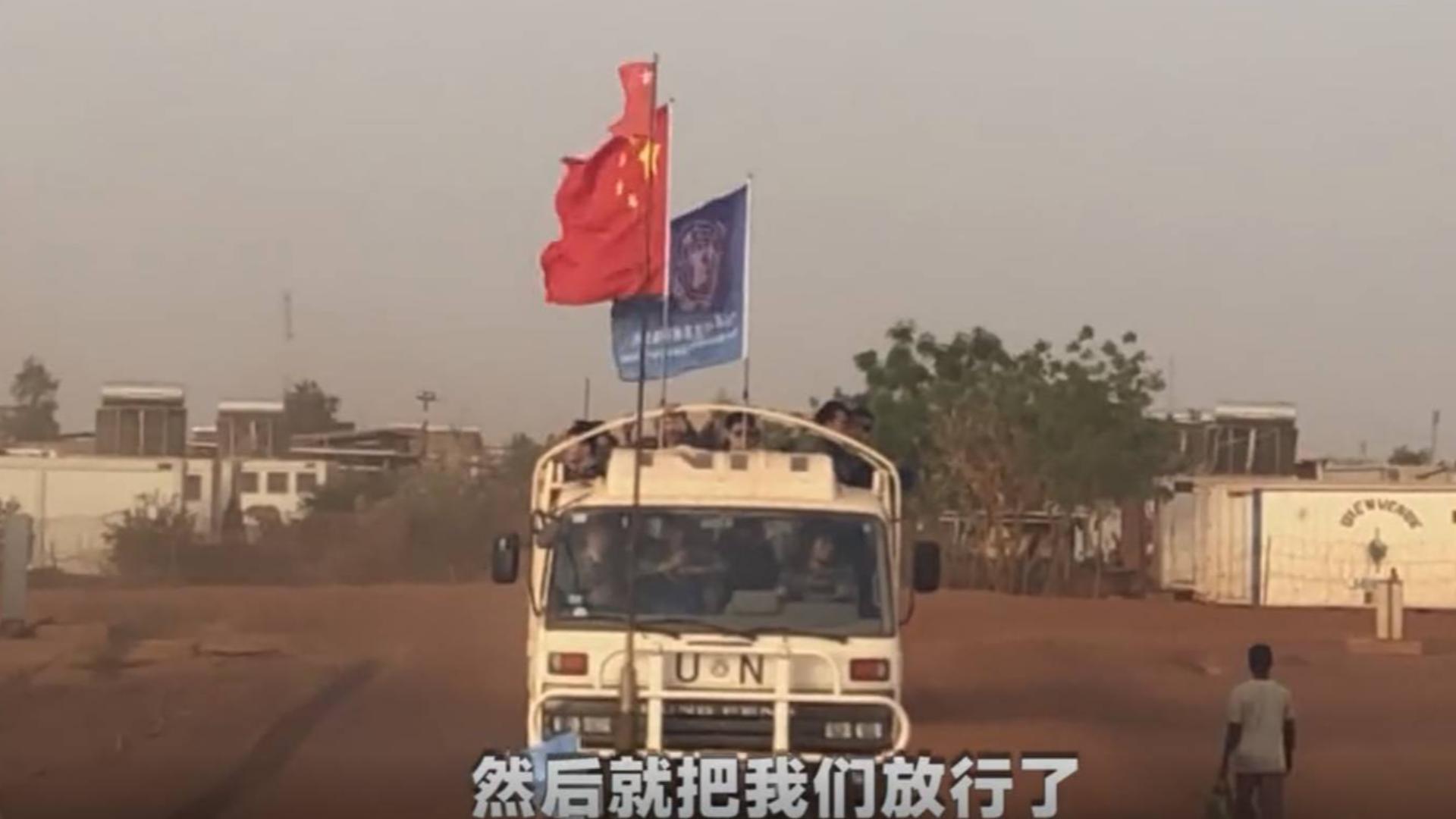 现实版《战狼》!叛军枪口对准中国维和军人,见五星红旗立刻放行