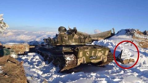 【点兵970】巴铁边境3600米雪峰出现中国坦克?