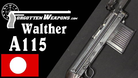 【被遗忘的武器/双语】瓦尔特A115试制半自动步枪历史介绍