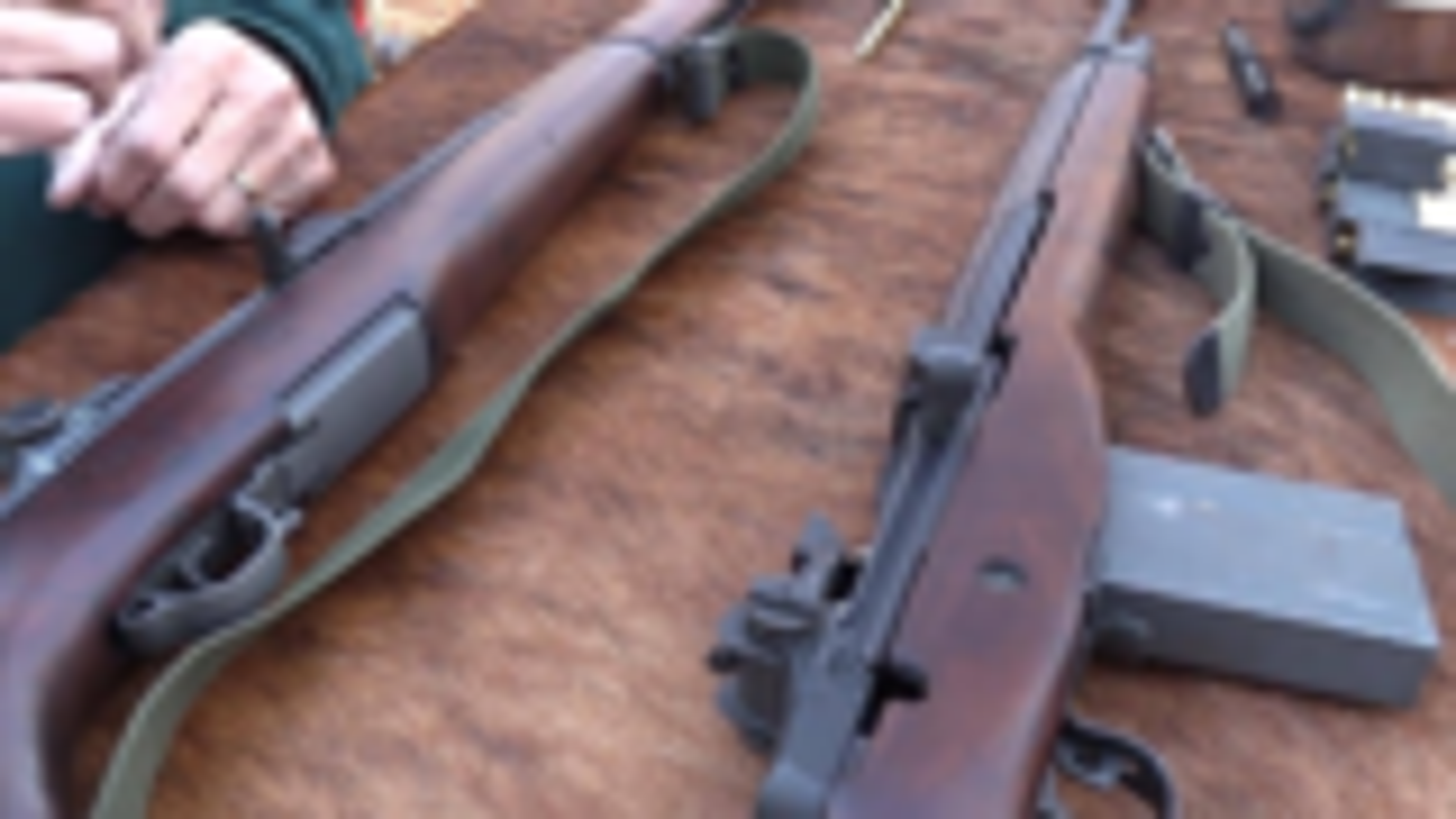 M1 加兰德步枪 vs M14步枪