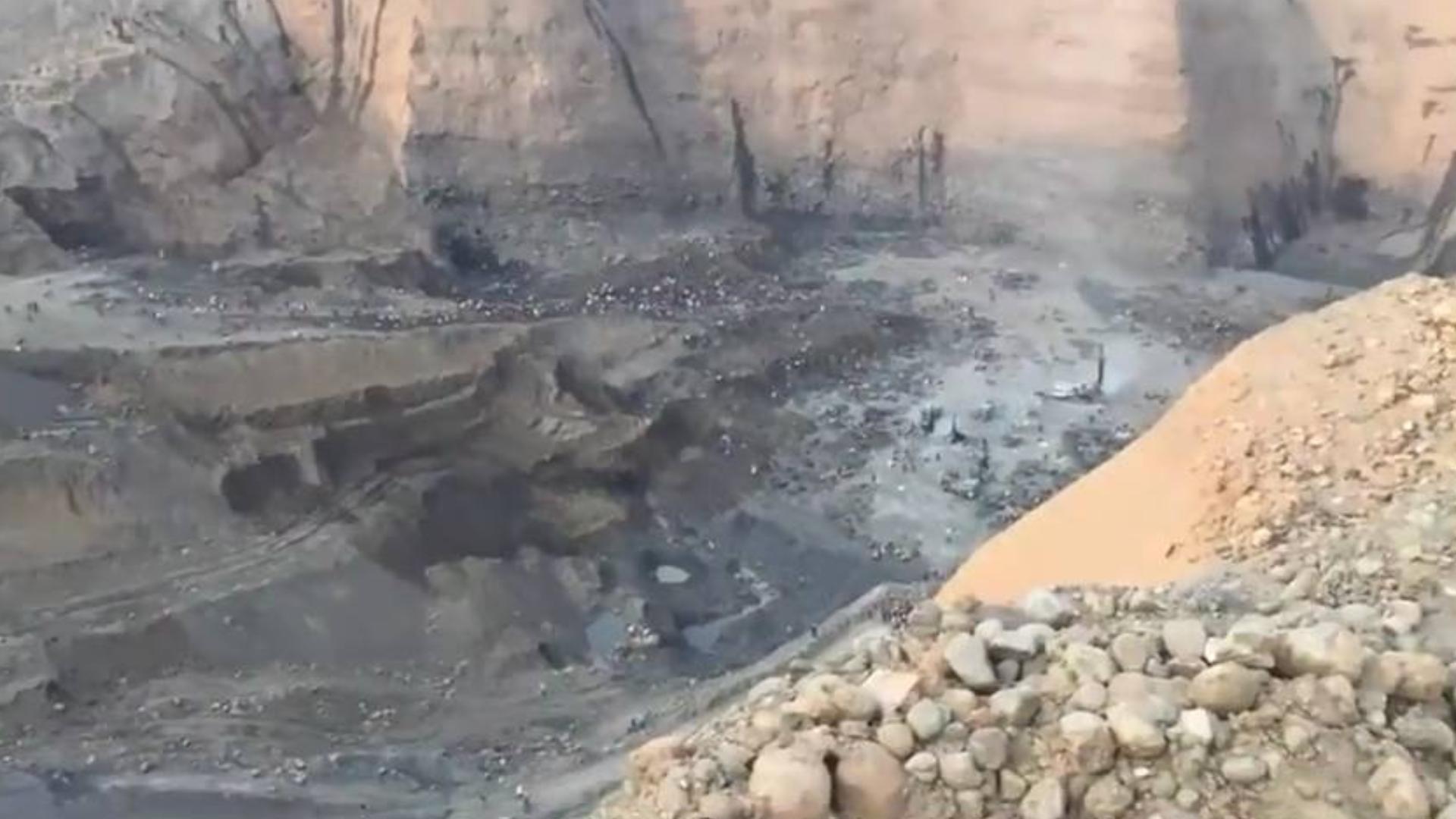 缅甸翡翠矿区纪实:千米悬崖底的挖玉人,记录千人挖石现场!