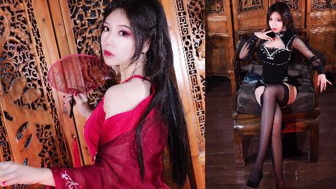 【椰汁兔】大姐姐版芒种--要你想我~旗袍&汉服惊艳换装