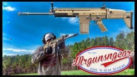 [Mrgunsngear Channel]FN SCAR17突击步枪