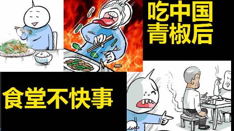 一位日本人把他在中国的经历8(食堂不快事,中国的青椒)