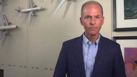 波音CEO发布视频:正采取措施确保737MAX客机安全