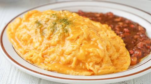 用了100+个鸡蛋才学会的【流心蛋包饭】,不看看对得起我吗?