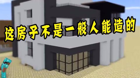 我的世界:这是个高手,这房子不是一般人能造的
