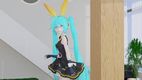 【blender/mmd】Bunny  MIKU!