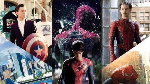 三代蜘蛛侠你更喜欢哪一个?
