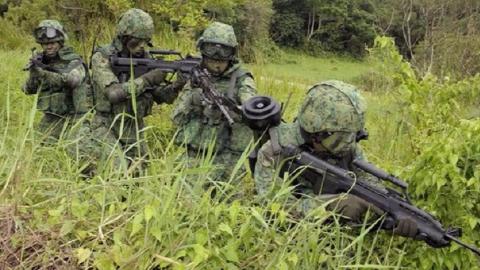"""士兵能从地里突然""""长""""出来,越南军队的伪装让你""""不得不服"""""""
