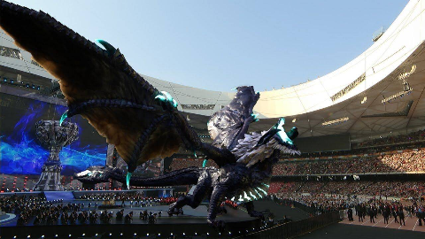 《Legends Never Die》S7英雄联盟全球总决赛鸟巢开幕式