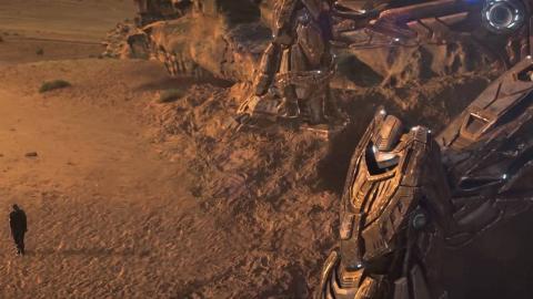 最新科幻短片《seam》!人类和机器人势不两立!各有各的地盘!