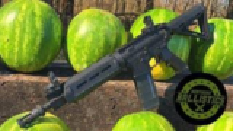 [Kentucky Ballistics]全自动AR-15射爆西瓜