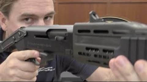 【搬运/已加工字幕】弗兰基SPAS-12霰弹枪 原理介绍