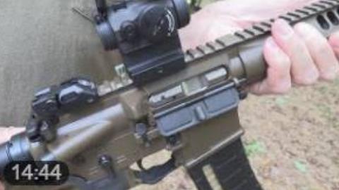 【hickok45】LWRC SIX8 A5 步枪试用