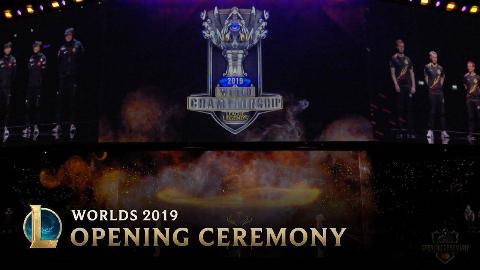 2019英雄联盟全球总决赛开幕式完整版
