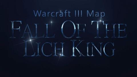 【魔兽争霸Boss战】巫妖王的陨落战斗完全流程,体验War3中的巫妖王击杀!