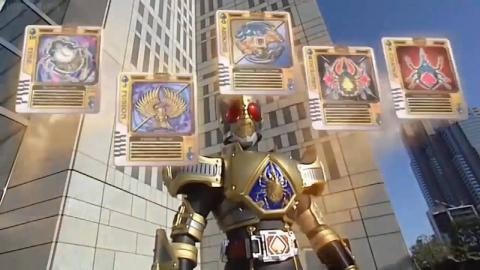 【假面骑士剑】假面骑士Blade必杀合集