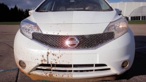 美国发明黑科技涂料,喷一次再也不用洗车了,洗车店都该关门了