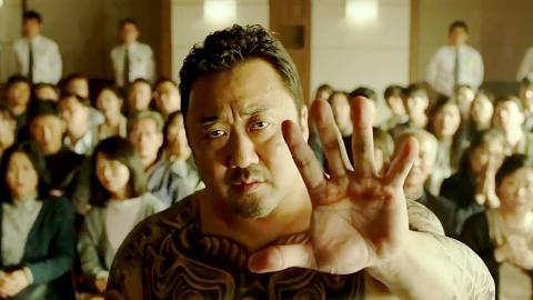 硬汉马东锡拳拳到肉,惩治变态杀人狂,韩国票房冠军《恶人传》