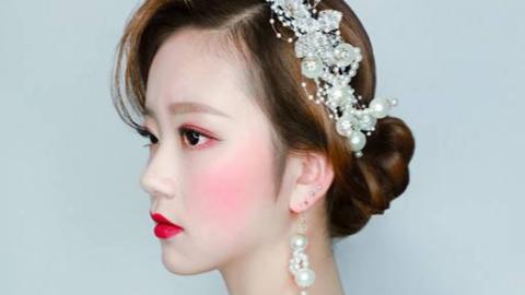 三分钟教你打造新娘时尚妆容!