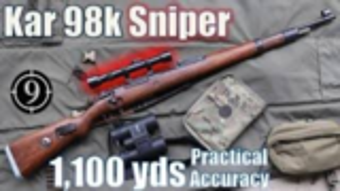 [9-Hole Reviews]使用Kar98k+ZF39瞄准镜挑战射击1100码目标
