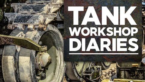 【坦克工坊日记/双语】第4集-丘吉尔悬挂, 59式, 玛蒂尔达II, 挑战者1等维修事宜