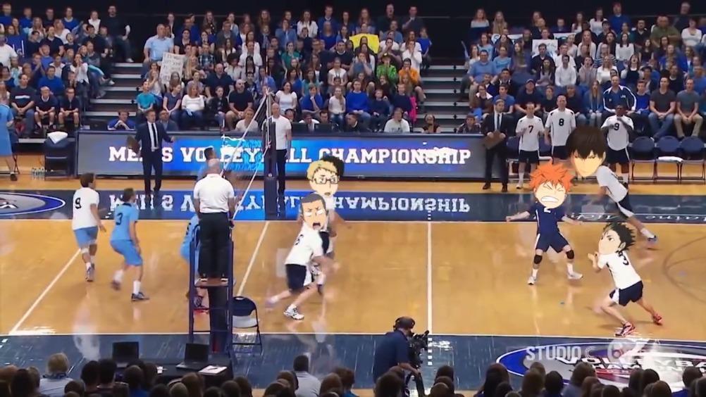 真实版排球少年 疾风菌的秒拍视频