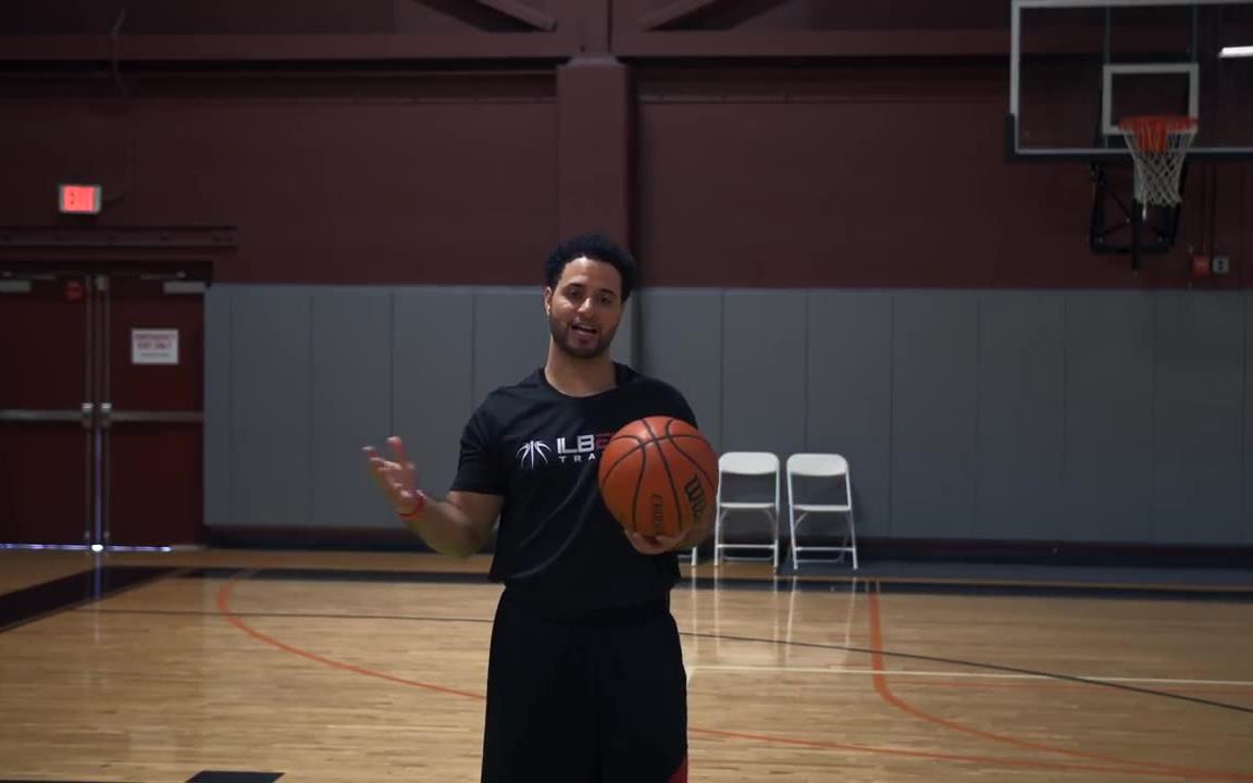 篮球投篮教学一个技巧找到最舒服的投篮位置【油管洛克】