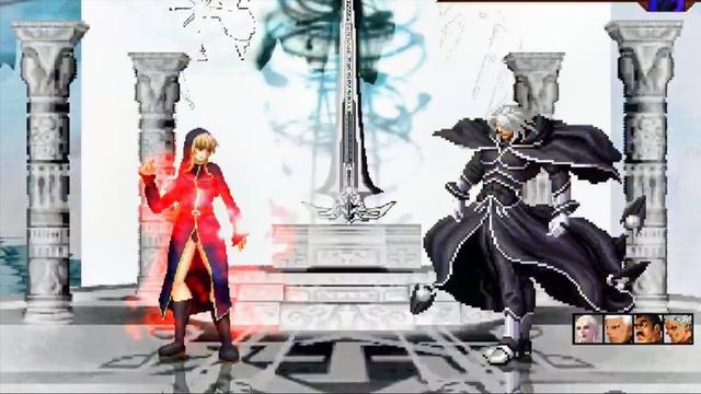 [KOF MUGEN] 女暴风 vs nest