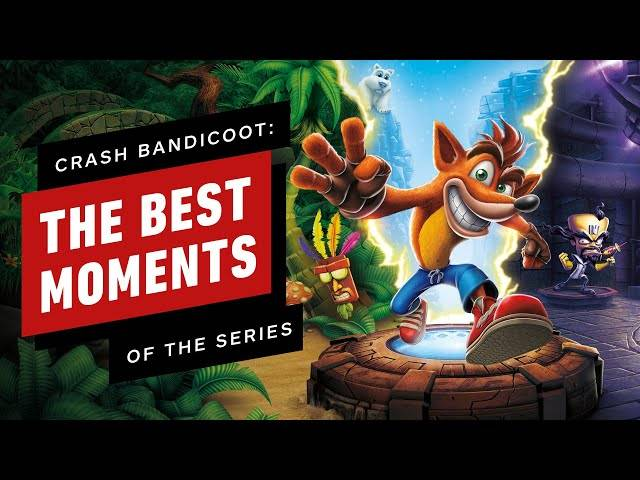 the best moments of the crash bandicoot series