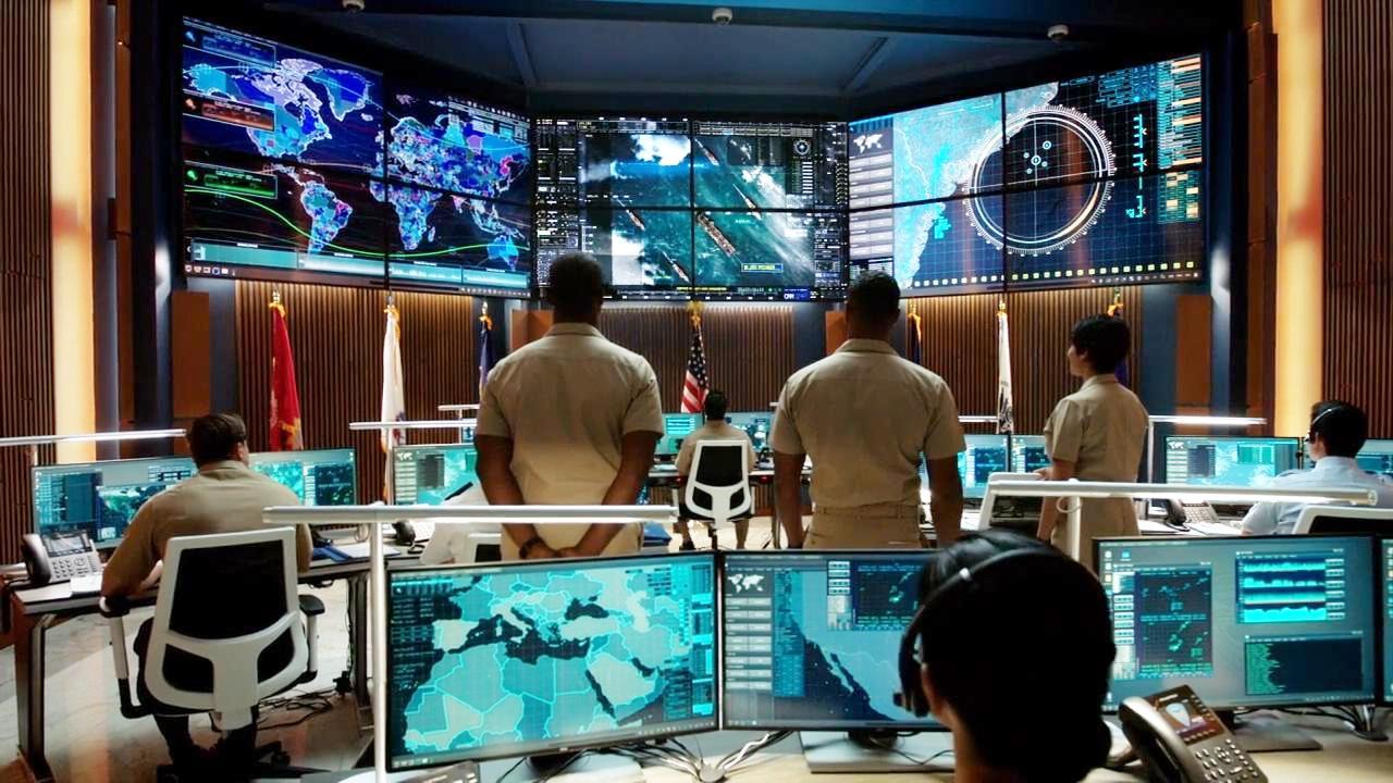 顶级现代海战片, 超级黑客攻入美军指挥链系统, 海军基地险遭团灭