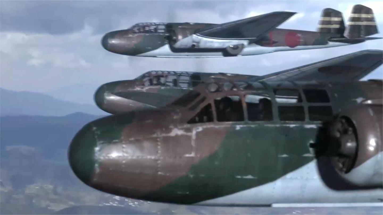 东方: 日军空袭洛阳机场, 不知这里停的是伊16, 立即送他们见阎王